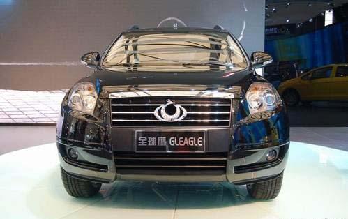 汽车资讯网:吉利首款suv全球鹰gx718将10月正式下线