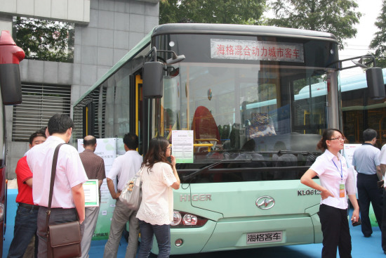 海格客车引领江苏新能源汽车崛起