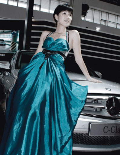 哈尔滨车展模特